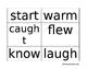 Wonders Unit 4 Sight Words (First Grade)