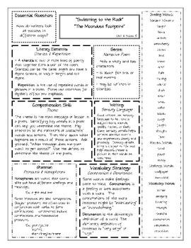 Wonders Unit 4 Summary Sheets