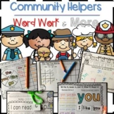 Community Worker Daily 5 Word Work & More