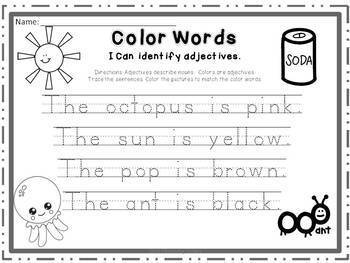 Word Work & More Community Helpers Theme: Phonics, Adjectives & More