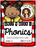 Wonders Unit 4 Week 1 Phonics: Long a: ai & ay