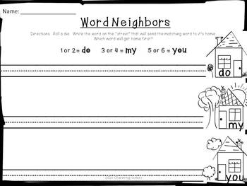 Word Work & More: Phonics, Adjectives, Handwriting, etc.