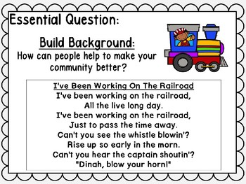 Wonders Unit 4 Week 3 Power Point Roadwork! Kindergarten