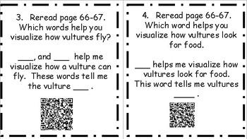 Wonders Unit 4 Week 3 Vulture View QR Codes