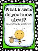 1st Grade Wonders - Unit 4  Week 4 - Insects