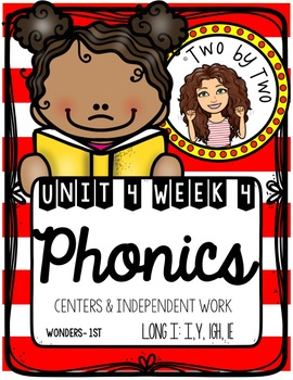 Wonders Unit 4 Week 4 Phonics: Long i: i, y, igh, ie