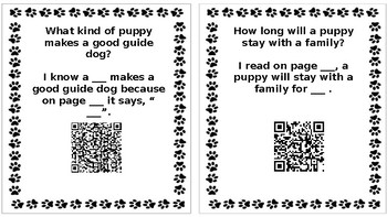 """Wonders Unit 4 Week 5 """"From Puppy to Guide Dog"""""""