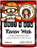 Wonders Unit 4 Week 6 HFWs Review Week