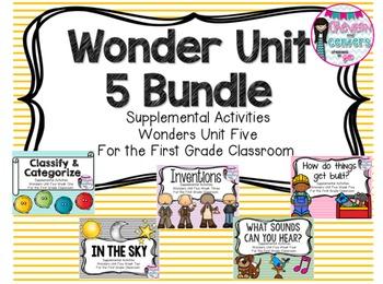Wonders Unit 5 Bundle