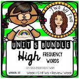 Wonders Unit 5 HFWs Bundle