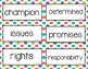 Wonders Unit 5 Vocabulary Word Cards (2nd Grade)