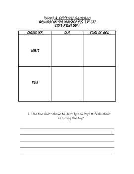 Wonders-Unit 5 Week 1 Comprehension Packet