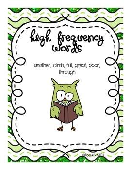 Wonders Unit 5 Week 2 High Frequency Words