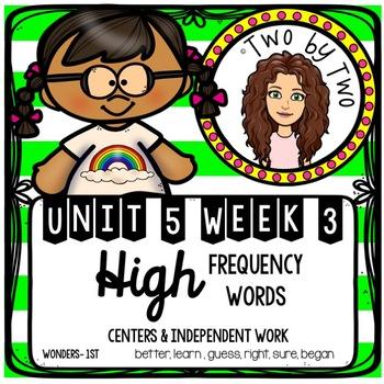 Wonders Unit 5 Week 3 HFWs