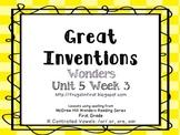 Wonders Unit 5 Week 3: /or/ or, oar, ore