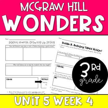 Wonders Unit 5 Week 4 Resources