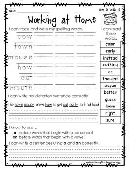 1st Grade Wonders  Unit 5 Week 4  Sounds All Around