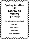 Wonders Unit 5 Week 4 Spelling Review