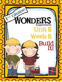 1st Grade Wonders (2014) Unit 5 Week 5  Build It!