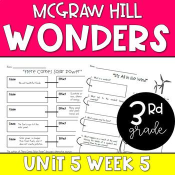 Wonders Unit 5 Week 5 Resources