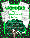 """Wonders Unit 5- """"Wonders of Nature"""" Activities and Extensions by KL"""