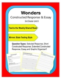 Wonders – Unit 6 (3rd) Constructed Response Practice