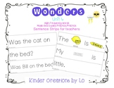 Reading Wonders High-Frequency Word Sentence Strips (Unit 6)