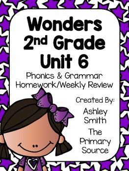 Wonders Unit 6 Homework