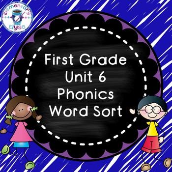Unit 6 Phonics Word Sort