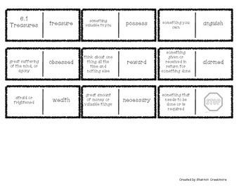 Wonders Unit 6 Vocabulary Dominoes (McGraw-Hill Wonders)