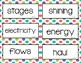 Wonders Unit 6 Vocabulary Word Cards (2nd Grade)