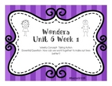 Wonders Unit 6 Week 1