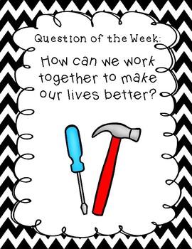 Wonders Unit 6 Week 1 Worksheets/Centers. First Grade. Super Tools