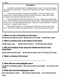 Wonders Unit 6 Week 5 Assessment