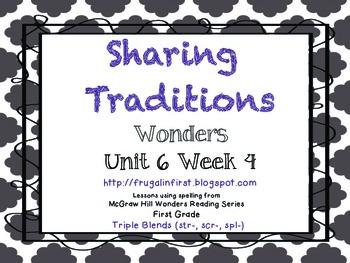 Wonders: Unit 6 Week 4 (three letter blends)