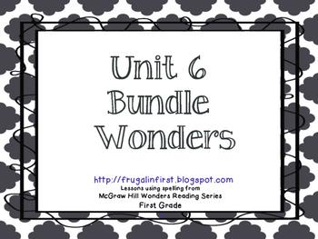 Wonders: Unit 6 bundle