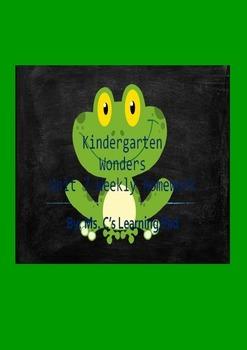 Wonders Unit 7 Reading/Math Homework Bundle