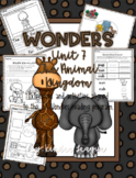 """Wonders Unit 7- """"The Animal Kingdom"""" Activities and Extensions by KL"""