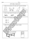 Wonders Unit 8 Assessment Bundle