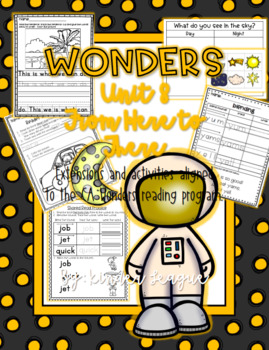 "Wonders Unit 8- ""From Here to There"" Activities and Extensions by KL"