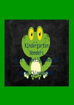 Wonders Unit 8 Reading/Math Homework Bundle