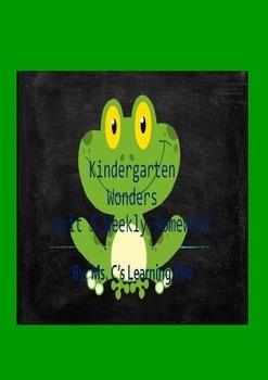 Wonders Unit 9 Reading/Math Homework Bundle