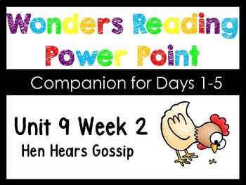 Wonders Unit 9 Week 2 Kindergarten Power Point