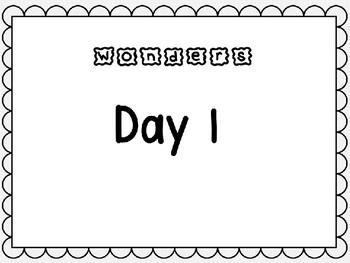 Wonders Unit 9 Week 3 Kindergarten Power Point