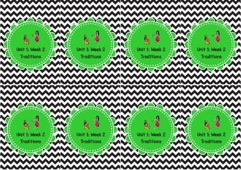 Wonders Unit Labels