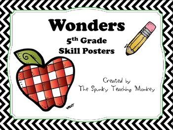 Wonders Unit Skill Posters Grade 5