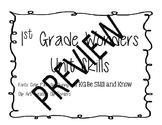 Wonders Unit Skills (1st Grade)