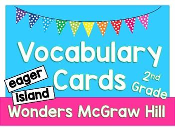 Wonders Vocabulary Cards