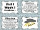 Third Grade Wonders Vocabulary Cards and Games Unit 1 Bundle