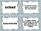 Wonders Vocabulary Cards and Games Unit 1 Week 1